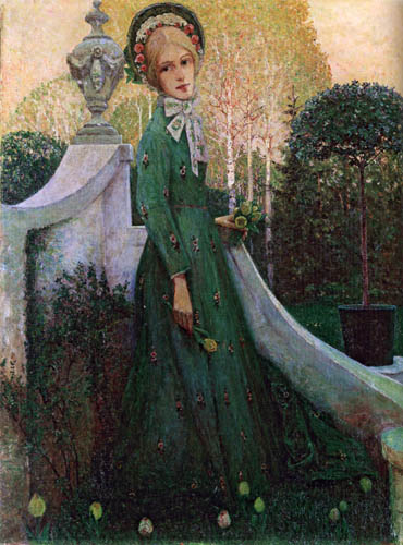 Heinrich Vogeler - Spring evening
