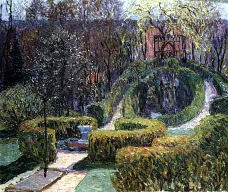 Heinrich Vogeler - Un jardín de primavera