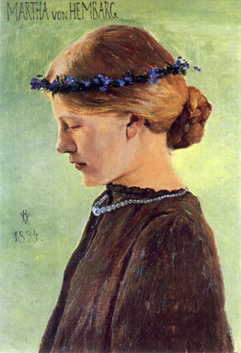 Heinrich Vogeler - Martha von Hembarg