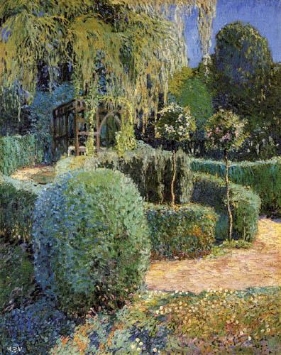 Heinrich Vogeler - Mi jardín