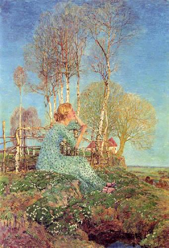 Heinrich Vogeler - Sehnsucht