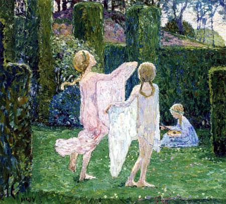Heinrich Vogeler - Tanzende Kinder