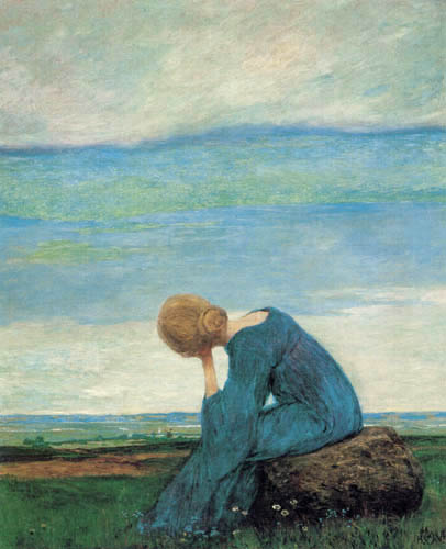 Heinrich Vogeler - La rêverie