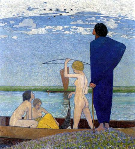 Heinrich Vogeler - La ensoñación