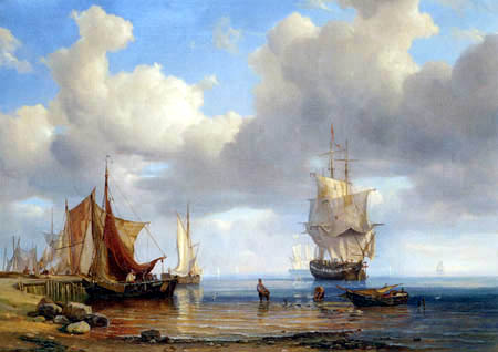 Adolph (Adolf) Vollmer - Smooth Sea