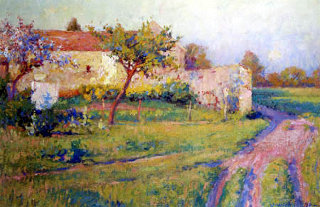 Robert Vonnoh - Spring, France