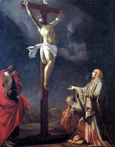 Simon Vouet - La Crucifixión