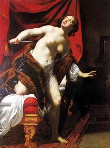 Simon Vouet - The suicide of the Lucretia