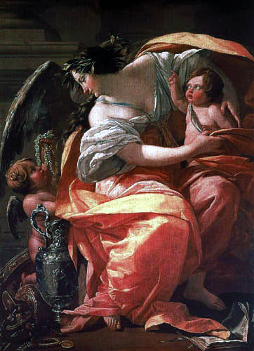 Simon Vouet - Allegorie of the riches