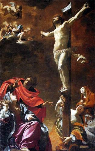 Simon Vouet - Crucifixion