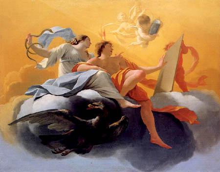Simon Vouet - Allegorie der Besonnenheit