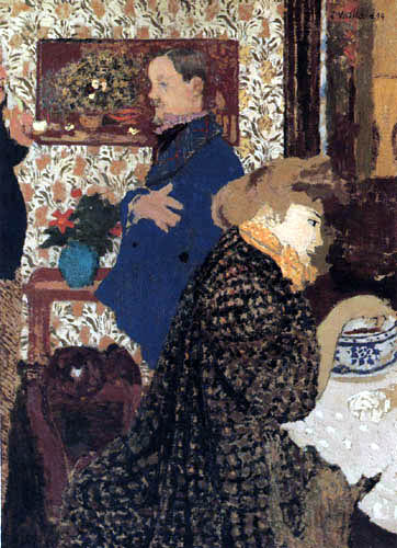 Edouard Vuillard - Vallotton and Misia in the Dining Room