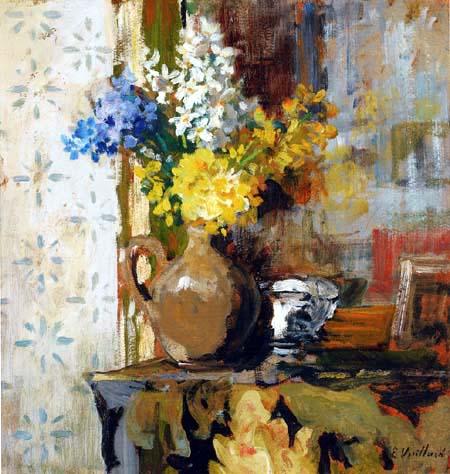 Edouard Vuillard - A vase of spring flowers