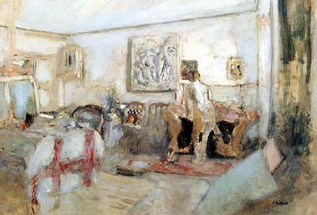 Edouard Vuillard - Nude model in studio
