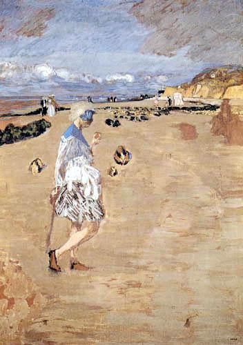Edouard Vuillard - Annette on the beach