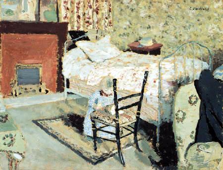 Edouard Vuillard - Annette plays in the Room