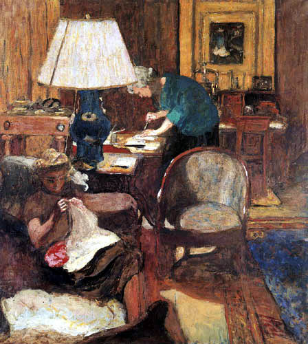 Edouard Vuillard - Bookbinding in the Rue de Naples