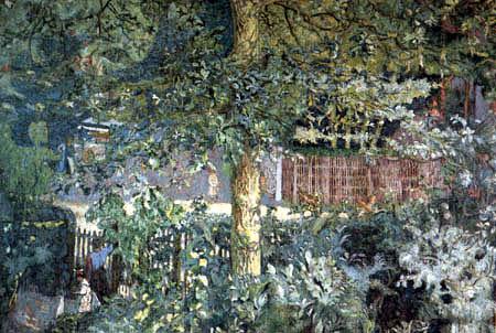 Edouard Vuillard - Oak Tree and Fruit Seller