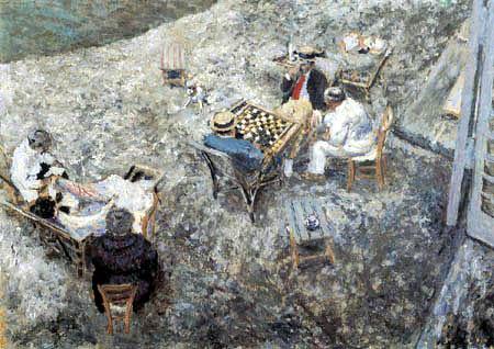 Edouard Vuillard - Draughts Game in Amfreville