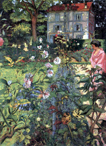 Edouard Vuillard - The Garden of Cézanne in Vaucresson