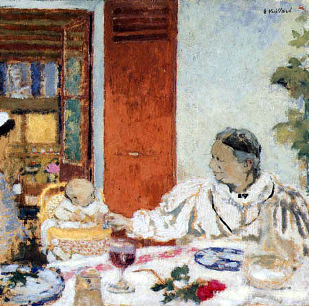 Edouard Vuillard - The breakfast