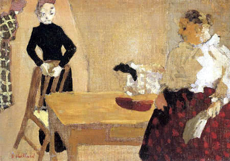 Edouard Vuillard - La conversation