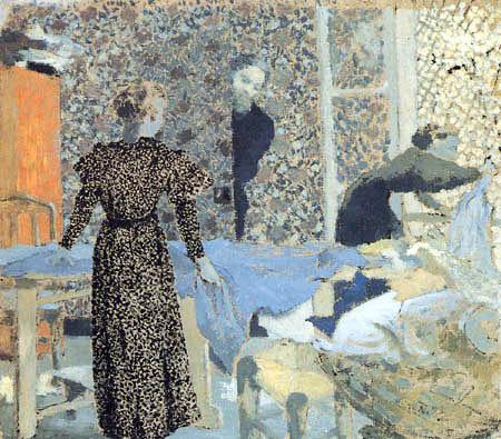 Edouard Vuillard - Interieur in L´Étang la Ville