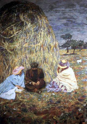 Edouard Vuillard - Meule de foin