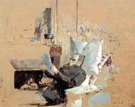 Edouard Vuillard - Der kranke Ker Xavier Roussel
