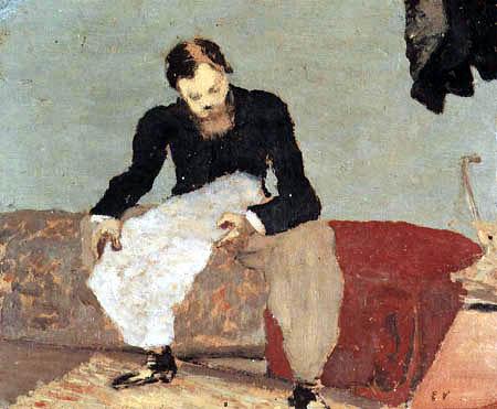 Edouard Vuillard - Portrait of Xavier Roussel