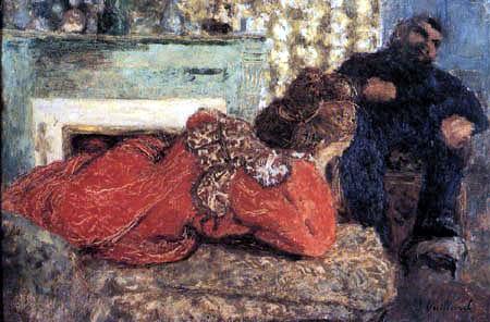 Edouard Vuillard - The red robe