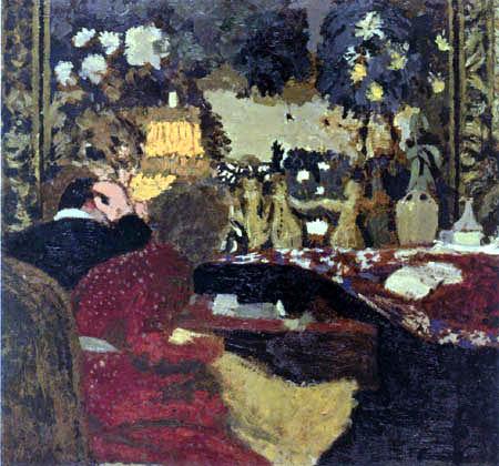 Edouard Vuillard - Misia and Thadee Natanson, Rue St-Florentin