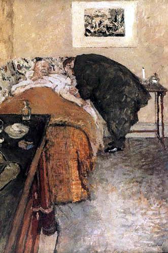 Edouard Vuillard - Le médecin visite