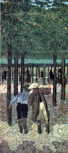 Edouard Vuillard - The two schoolboys