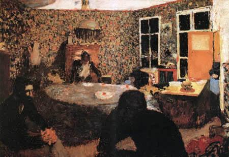 Edouard Vuillard - The family Roussel
