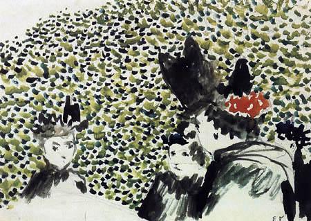 Edouard Vuillard - The hats