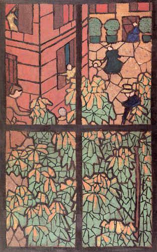 Edouard Vuillard - The chestnut trees