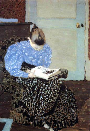Edouard Vuillard - A Woman Reading