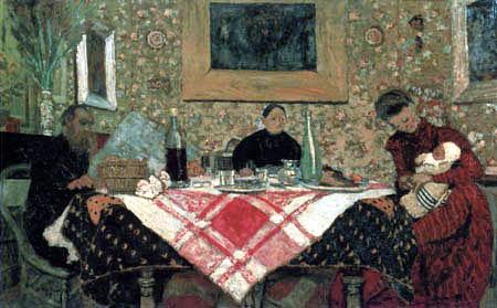 Edouard Vuillard - Family Roussel at the Table