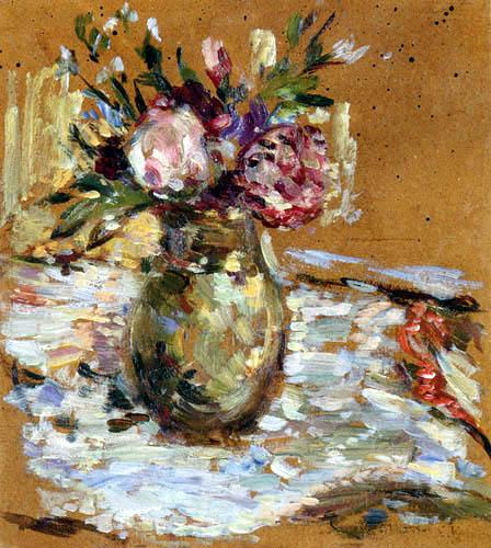 Edouard Vuillard - Bouquet de fleurs