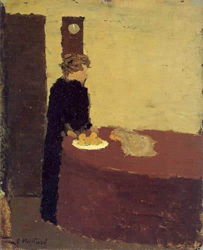 Edouard Vuillard - Woman in Black