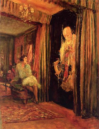 Edouard Vuillard - Fridette Faton et le Bronze