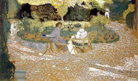 Edouard Vuillard - In the garden