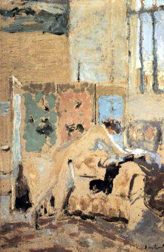 Edouard Vuillard - Interior with a Screen