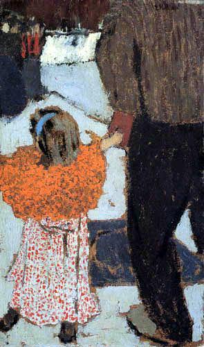 Edouard Vuillard - Child with a red scarf