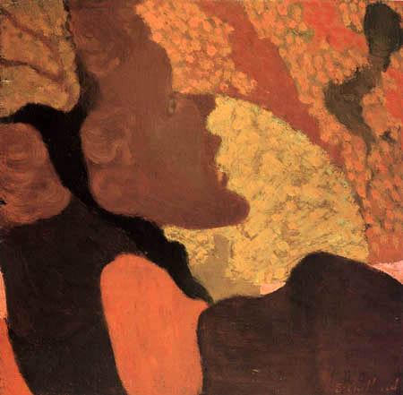 Edouard Vuillard - A singer in the Divan Japonais