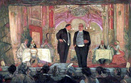 Edouard Vuillard - Le petit Cafe