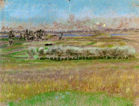 Edouard Vuillard - The silvery trees