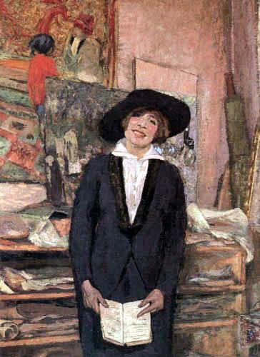 Edouard Vuillard - Lucie Belin im Atelier, Boulevard Malesherbes