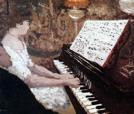 Edouard Vuillard - Misia joue du piano